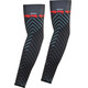 Bioracer Subli Dazzle Armwarmers green-red